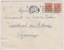NEDERLAND BRIEF 1935 / BIJZONDER / NVPH 150 2X OP BRIEF / LAKZEGEL