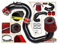 MATTE BLACK COLD AIR INTAKE KIT+DRY FILTER FOR Mazda 04-09 Mazda3 2.0L 2.3L L4