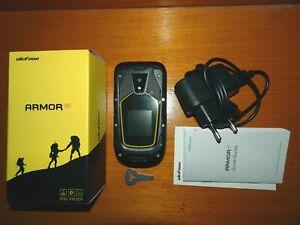 Téléphone portable Ulefone Armor Flip noir étanche IP68 double Sim