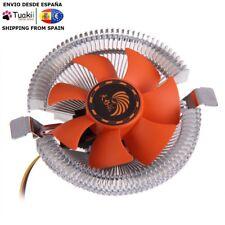 Ventilador Refrigerador 12V PC CPU con Disipador Intel LGA775 1155 754 AM3 AM2+