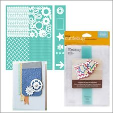 Cuttlebug embossing folders - Being a Boy 5 x 7 embossing folder set border