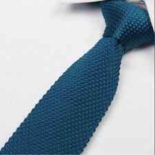 De Alta Calidad para Hombre Moda Corbata de Punto Tejido Corbata Delgada Tejido Colores vendedor del Reino Unido