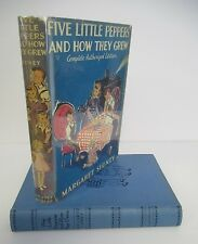 FIVE LITTLE PEPPERS AND HOW THEY GREW by Margaret Sidney, in DJ
