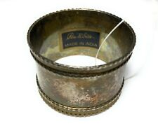 New listing Set of 7 Napkin Ring Holders Metal Pier Imports Made in India Vintage Nos
