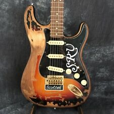 VINTAGE Custom Shop Stevie Ray Vaughan SRV Electric Guitar Made by Human