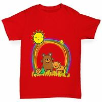 Twisted Envy Boy's Rainbow Sunshine Pets T-Shirt