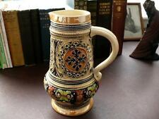 Late 19th/Early 20th c Marzi & Remy Decorative Stoneware Jug