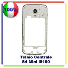 cornice middle frame Samsung S4 Mini i9190 centrale cover telaio BIANCO NERO