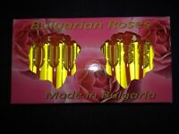 100% Genuine Bulgarian ROSE OIL (OTTO) Perfume Pink rose Vial 10x2ml EU made