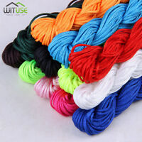 NYLON CHINESE KNOT CORD STRING THREAD FOR JEWELRY BRACELET BEADING 1MM 1.5MM 64