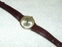 Vintage Working 1963 Omega Automatic Seamaster DeVille Gold GF Swiss Men's Watch