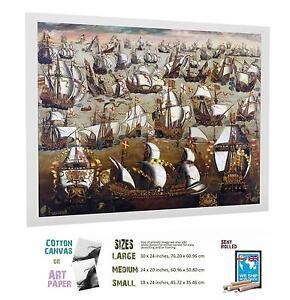 WAR ANGLO SPANISH INVINCIBLE ARMADA 782 487 ART