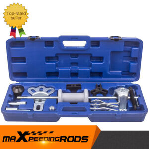 Slide Hammer Dent Puller Tool Kit Wrench Adapter Axle Bearing Hub Professional