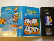 Donalds größte Hits Disney FSK ohne Altersbeschränkung VHS gebr