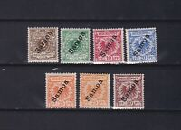 GERMANY SAMOA 1900, Mi#1-6, CV €450, Germany&Colonies, MNH/MH