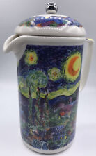 Chaleur Masters Collection by D. Burrows The Starry Night Coffee French Press