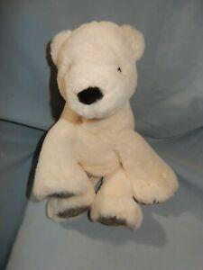 "Mary Meyer Chillin' Polar Bear White Large Plush Animal 12"""