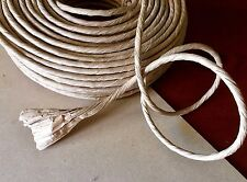 3m x Thick Paper Rope 5mm - 1ply Natural Brown Twisted Kraft Cord Shred Toy Part