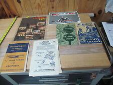 Lionel Toy Train Catalog Lot Vintage