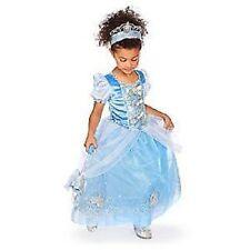 Cinderella Glitter Silver Bows~Costume~Dress~Girls 10 (L)~Nwt~Disney Store-2010