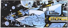 Plaque émaillée Valérian L'Empire des mille planètes, Vaisseaux dans l'espace Ed