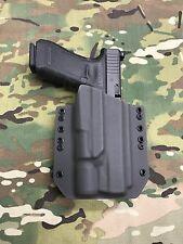 Armor Gray Kydex Light Bearing Holster for Glock 34 35 Surefire X300 Vampire