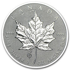 2013 Canada 1 oz Silver Maple Leaf Lunar Snake Privy - SKU #74115