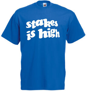 Stakes is High Music Hip Hop De la Soul Inspired Men's Printed T-Shirt Clothing