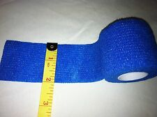 "Tape Medical NO Latex Self Adhesive Blue 2"" x 5 yard Athletic Bandage Penis Wrap"