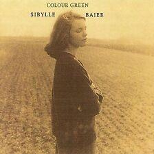 Colour Green by Sibylle Baier (CD, Jan-2007, Orange Twin)