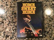 Home Sweet Home Dvd! 1981 Psycho Slasher! Also See Halloween & Maniac