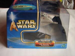 Star Wars Action Fleet Lukes Snowspeeder ESB E V   2002 Micro Machines 1018