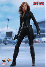 MARVEL HOT TOYS CIVIL WAR BLACK WIDOW 1:6 SCALE ACTION FIGURE HOTMMS365