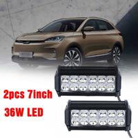 2x CREE 36W 12/24V LED Work Light Offroad Car Truck Tractor ATV Boat  Spotlight