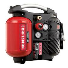 Craftsman 1.2 Gallon AirBoss Oil-Free Air Compressor and Hose Kit 135 PSI