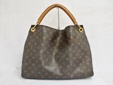 LOUIS VUITTON Artsy MM Shoulder Hand Tote Bag M40249 Monogram Brown Used Ex++