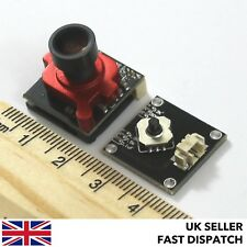 Rojo Mini HD cámara de vídeo 800TVL FPV 2.1/2.3 mm Lente 1/3' mg CCD Super HAD II