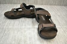 **Skechers Relaxed Fit: Conner - Louden 64487EWW Sandal, Men's Size 9EWW, Brown