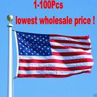 3'x5' Polyester U.S. FLAG USA American Stars Stripes United States Grommets