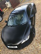 Audi R8 V8 4.2 manual 2008 Black & Grey leather Larini Club sport Valved Exhaust