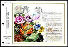 France CEF 1977 FLORA GIARDINO GARDEN JARDIN FIORI FLOWERS BOTANICA BOTANY zf24