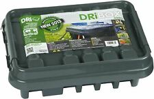 Dri-Box Weatherproof Power Cord Connection Box Black for Multiple Transformers