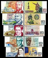 Irlande -  2x  5 -  100 Pounds - Edition 1992 - 2001 - Reproduction - 01