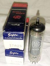 NOS AWV Super Radiotron 12AQ5 vacuum tube radio TV valve, TESTED