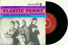 """PLASTIC PENNY Nobody Knows It 1968 HOLLAND PAGE ONE PS VINYL SINGLE 7"""""""