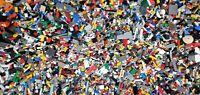 Genuine Lego Lot of 1LB Random parts, bricks, wheels, star wars, potter, etc.