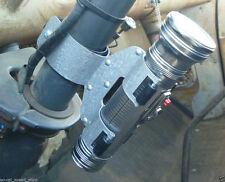 VTG STYLE FLASHLIGHT W COLUMN MOUNTING BRACKET RAT HOT ROD CUSTOM PICKUP TRUCK
