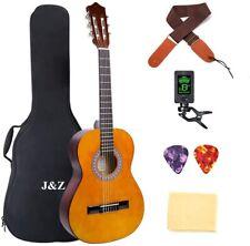 Classical Guitar Acoustic Guitar 3/4 Junior Size 36 inch Kids Guitar 6 Strings