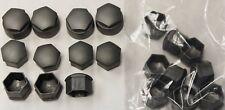 GENUINE AUDI A2 A3 A4 A5 A6 Q5 17mm WHEEL NUT BOLT COVERS LOCKING CAPS u