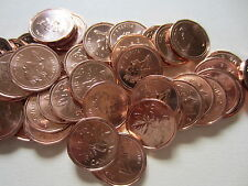 Roll of 1993 Canada Small Cents (50 Coins). RED UNC. Mint Roll (RJ366)